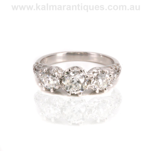Diamond engagement ring Sydney