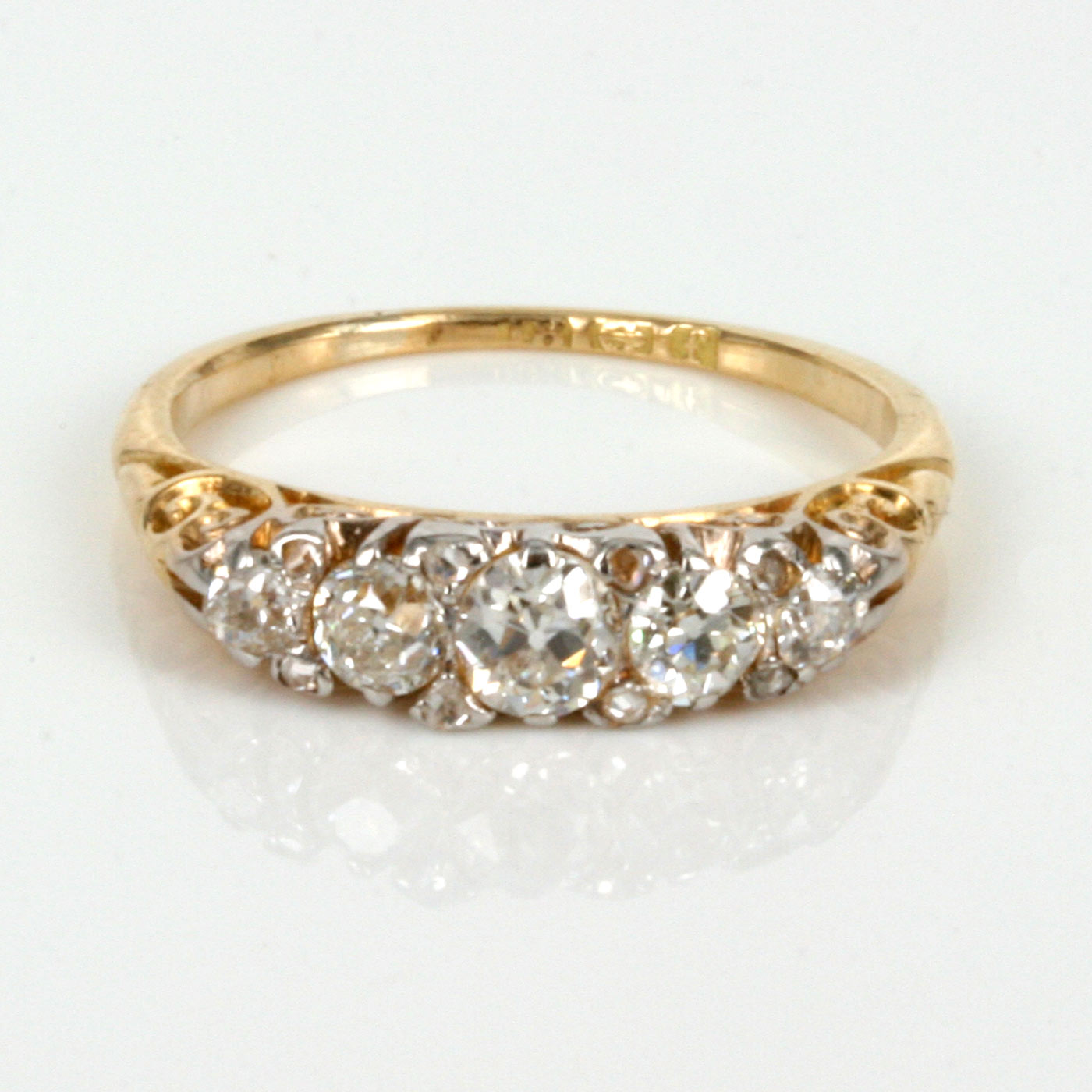 buy antique engagement ring made in 1905 sold