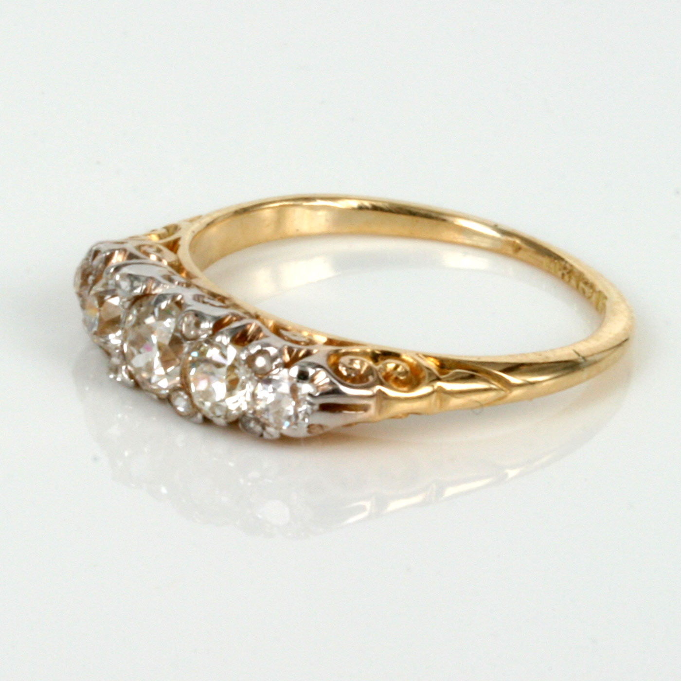 Buy Antique Diamond Engagement Ring Made In 1905 Sold Items
