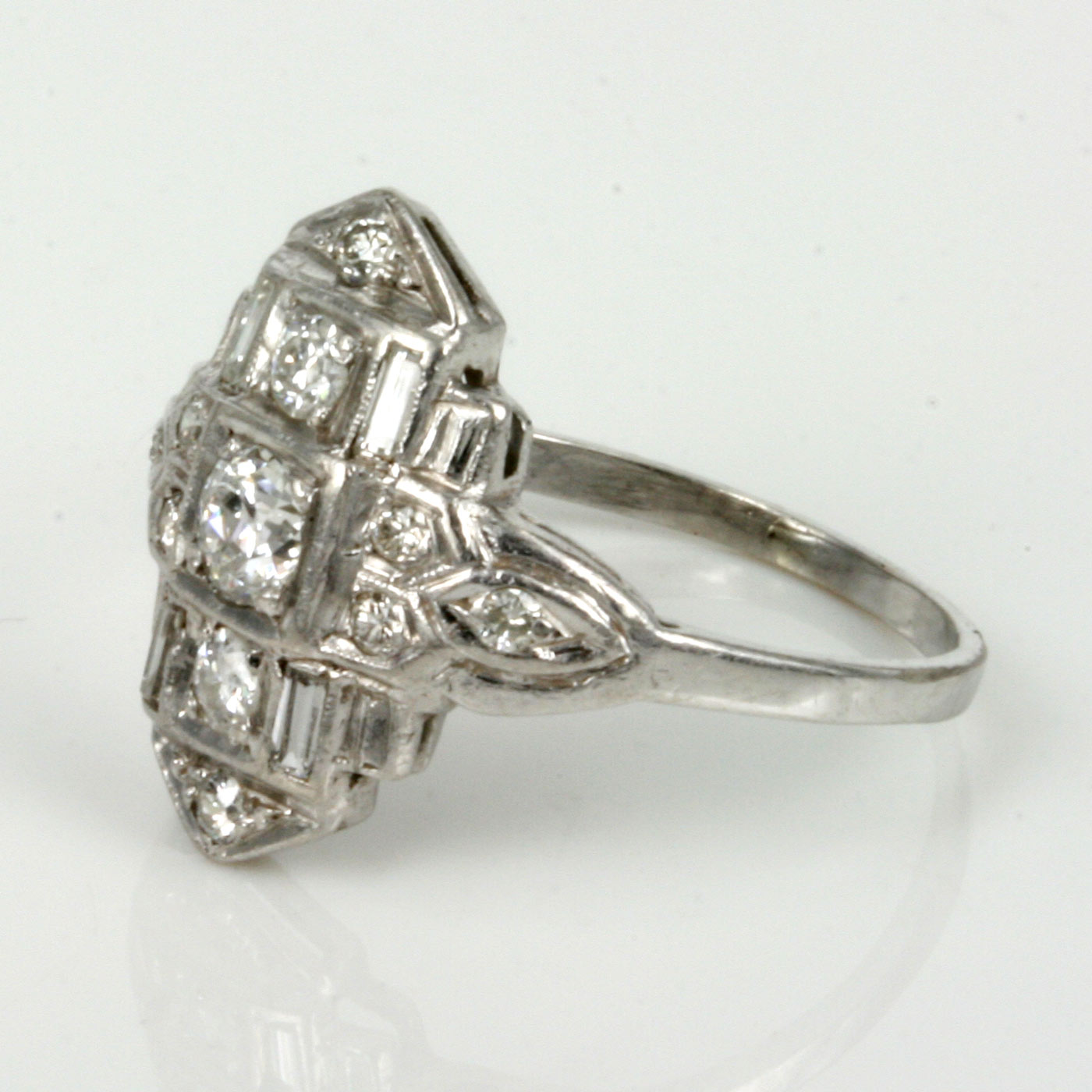 Buy Diamond Art Deco Diamond Ring From The 1920 S Sold