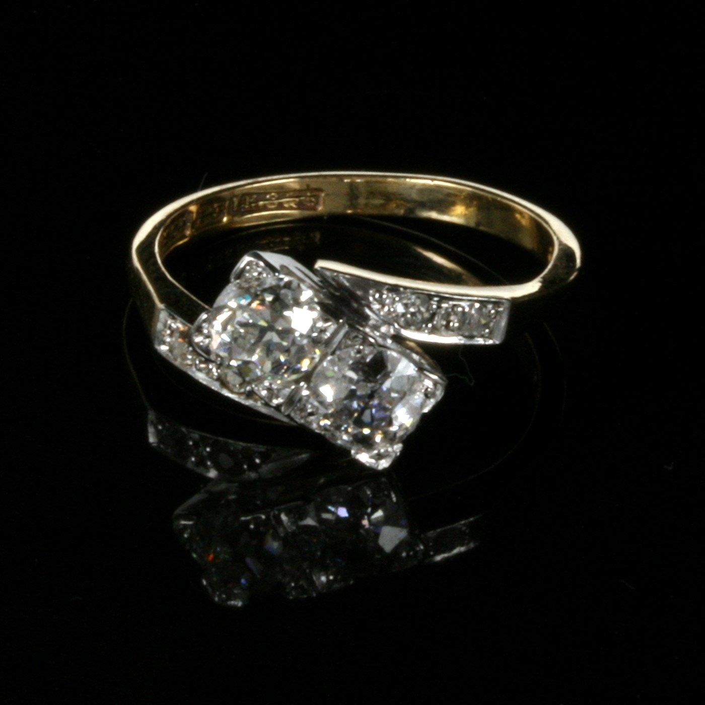 Kalmarantiques  Stone Ring