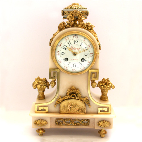 Magnificent clock by Dutertre.