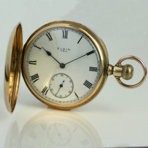 14ct Elgin pocket watch from 1916