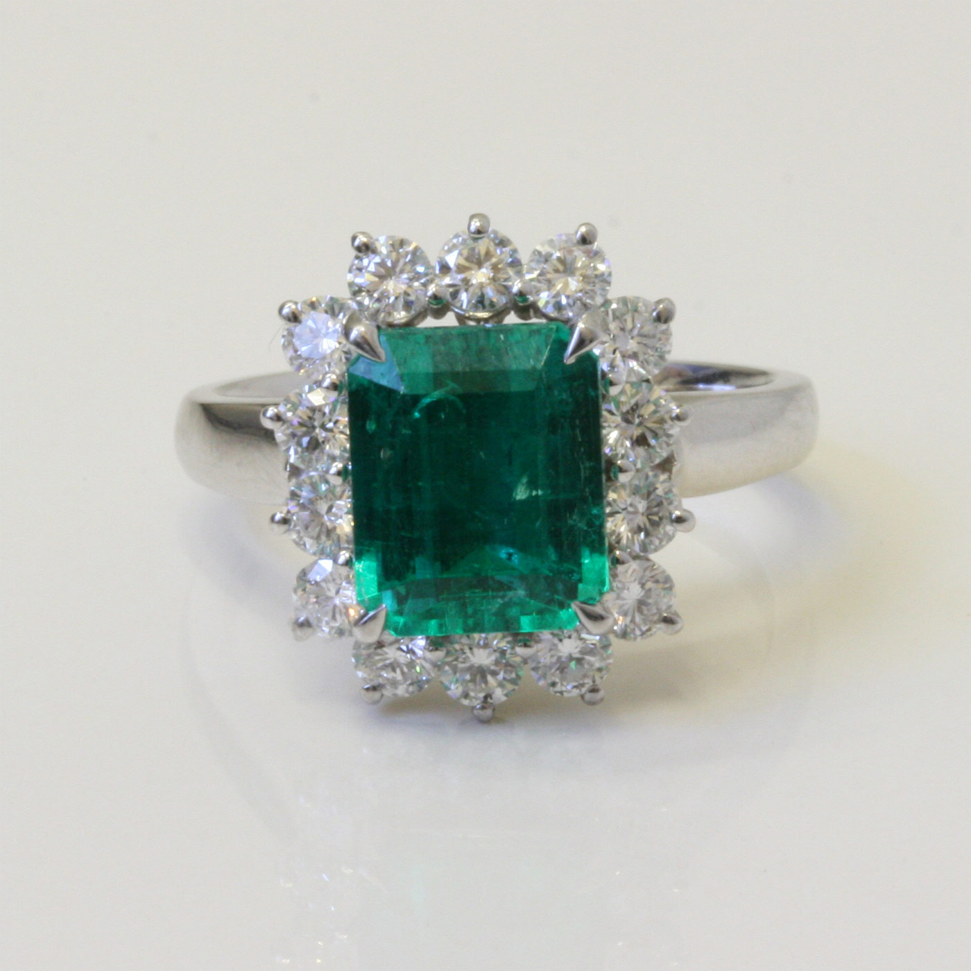 columbian emerald and diamond ring sold items sold rings
