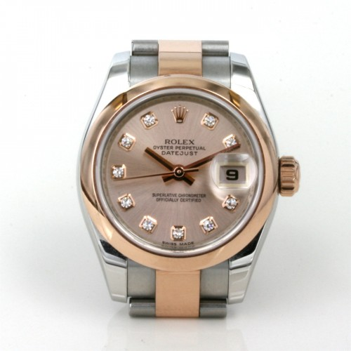 Ladies Rolex Datejust diamond dial, model 179161