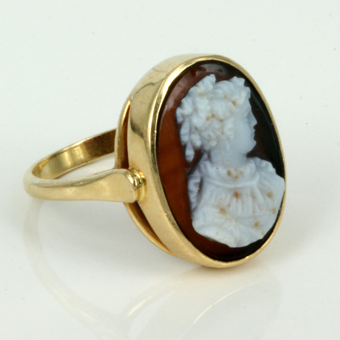 Buy hardstone antique cameo ring from france antique antique cameo hardstone antique cameo ring from france aloadofball Choice Image
