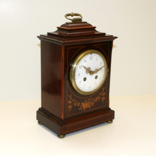Antique French time & strike clock by F.Marti circa 1870