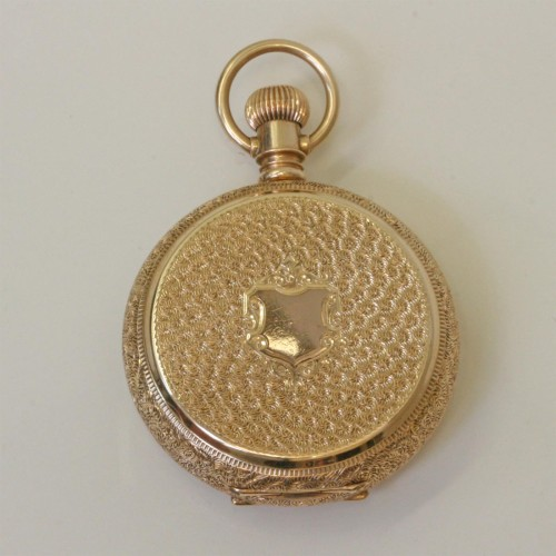 14ct gold Waltham pocket watch.