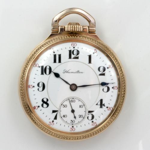 Hamilton pocket watch calibre 992