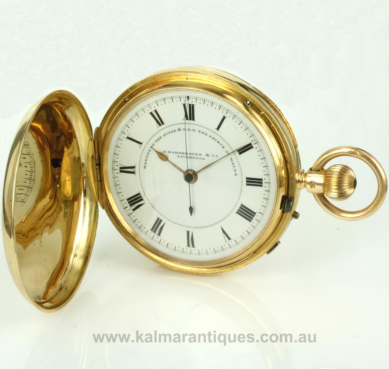hargreaves pocket watch | eBay