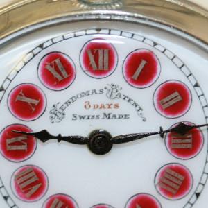 Hebdomas pocket watch.
