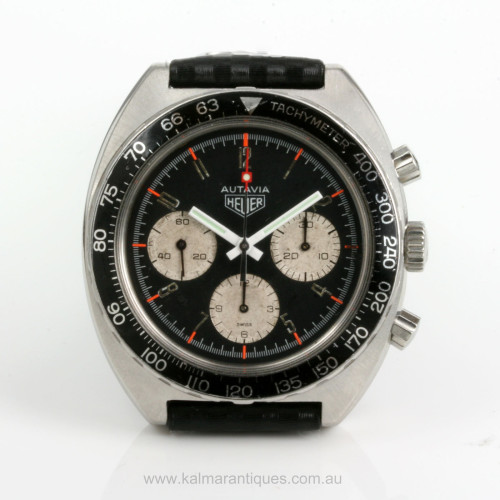 Vintage Heuer Autavia 1970's watch