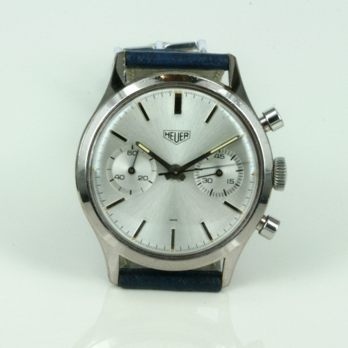 Vintage Heuer Chronograph watch.