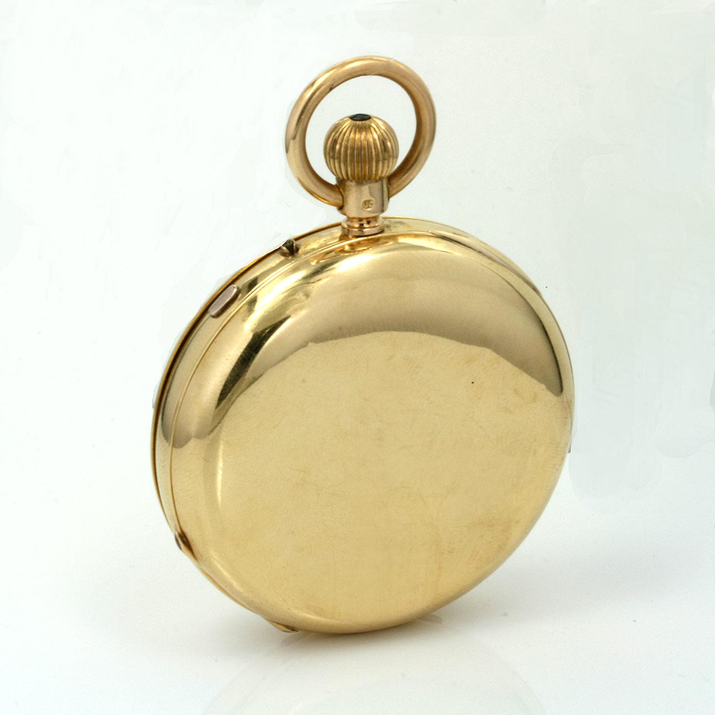 J. Hargreaves & Co. Liverpool pocket watch 18 karat gold ...