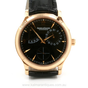 18ct pink gold Jaeger LeCoultre Master Control