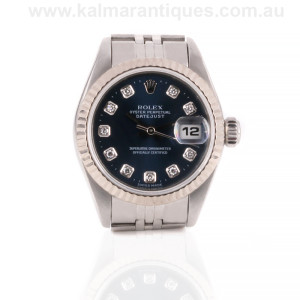 Ladies diamond dial Rolex reference 79174 Rolex Sydney