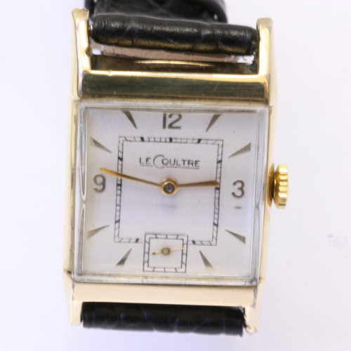 Vintage LeCoultre wrist watch.
