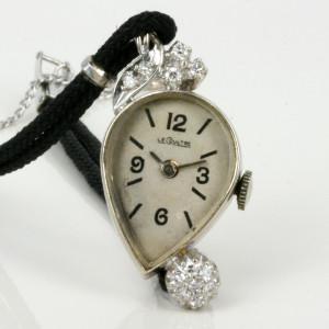 14ct LeCoultre asymetrical watch.