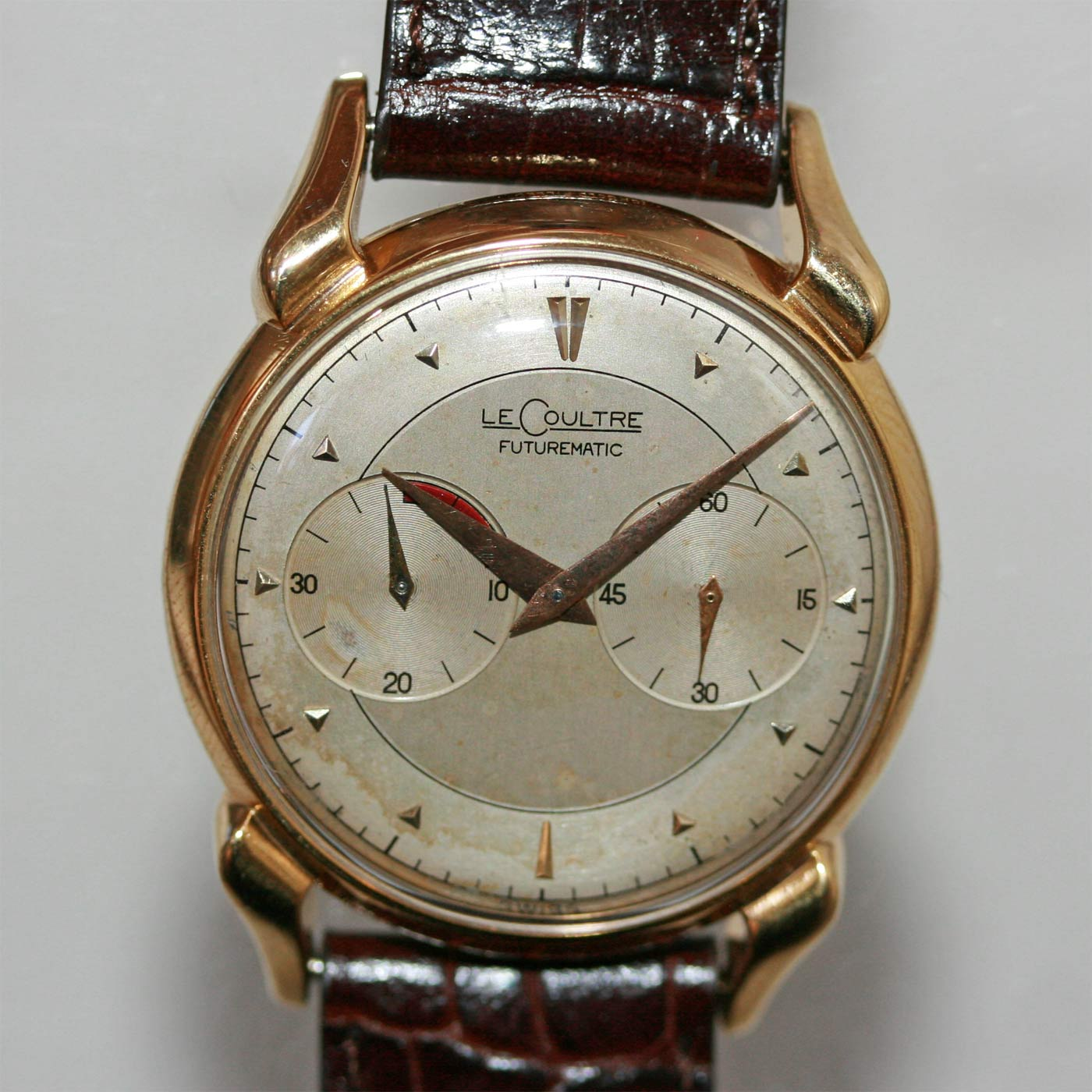 Buy lecoultre futurematic watch sold items sold watches sydney kalmarantiques for Lecoultre watches