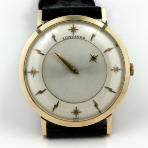 Longines Mystery dial vintage watch.