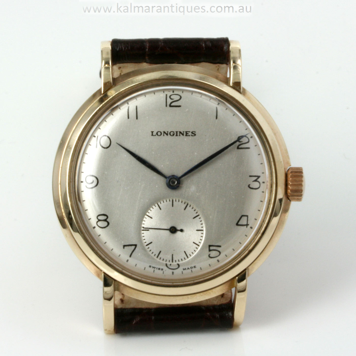 Buy 9ct gold vintage longines watch from 1949 sold items for What watch to buy