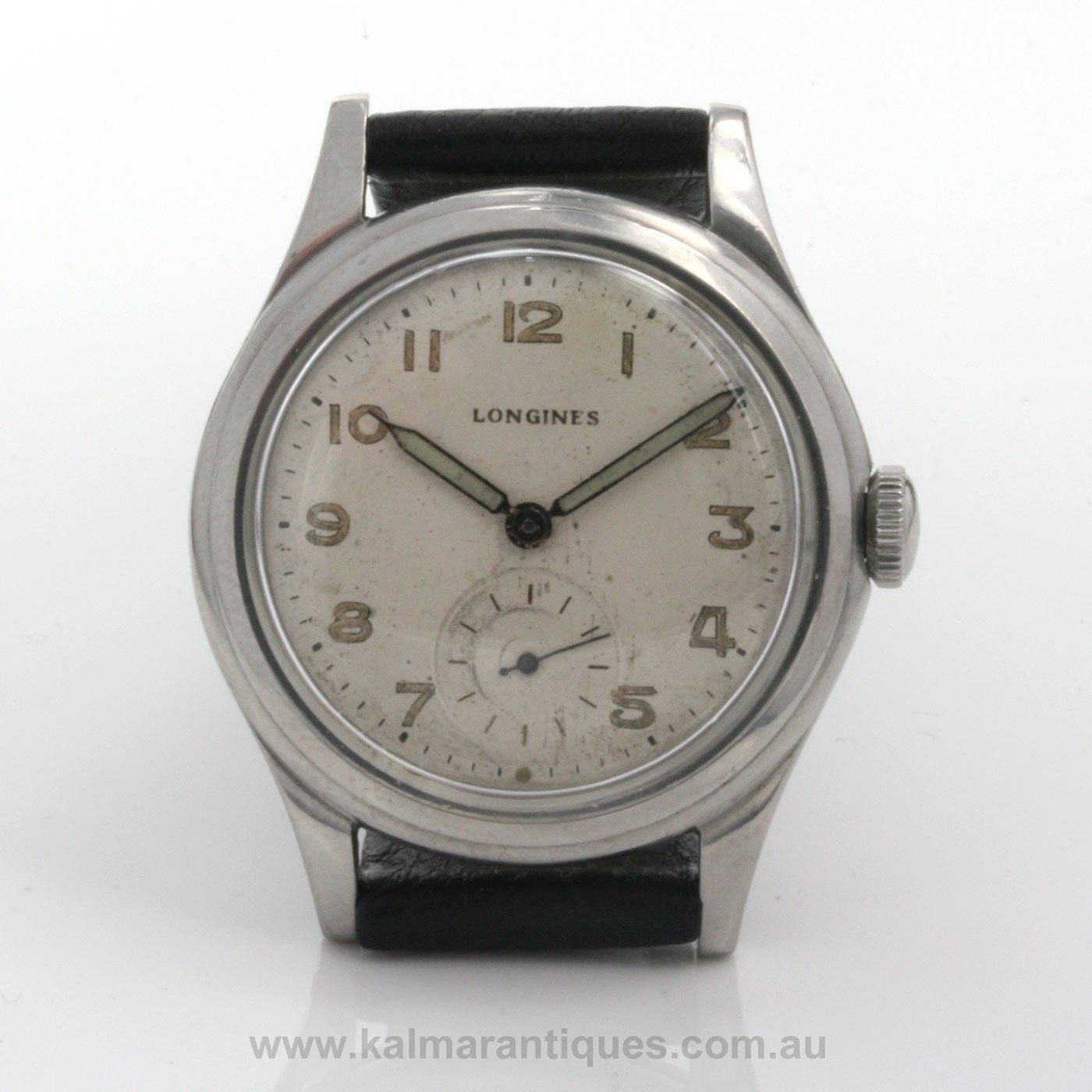 buy vintage 1945 longines calibre 687 sold items