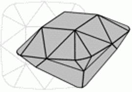 Mazarin cut diamond