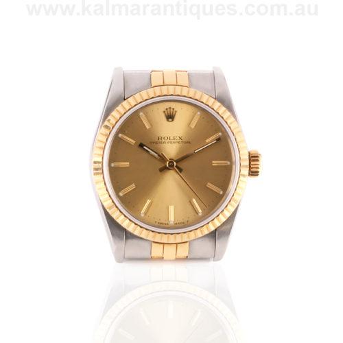Midsize Rolex watch 67513