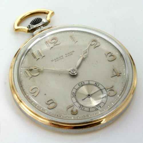 Movado pocket watch for Hardy Bros.