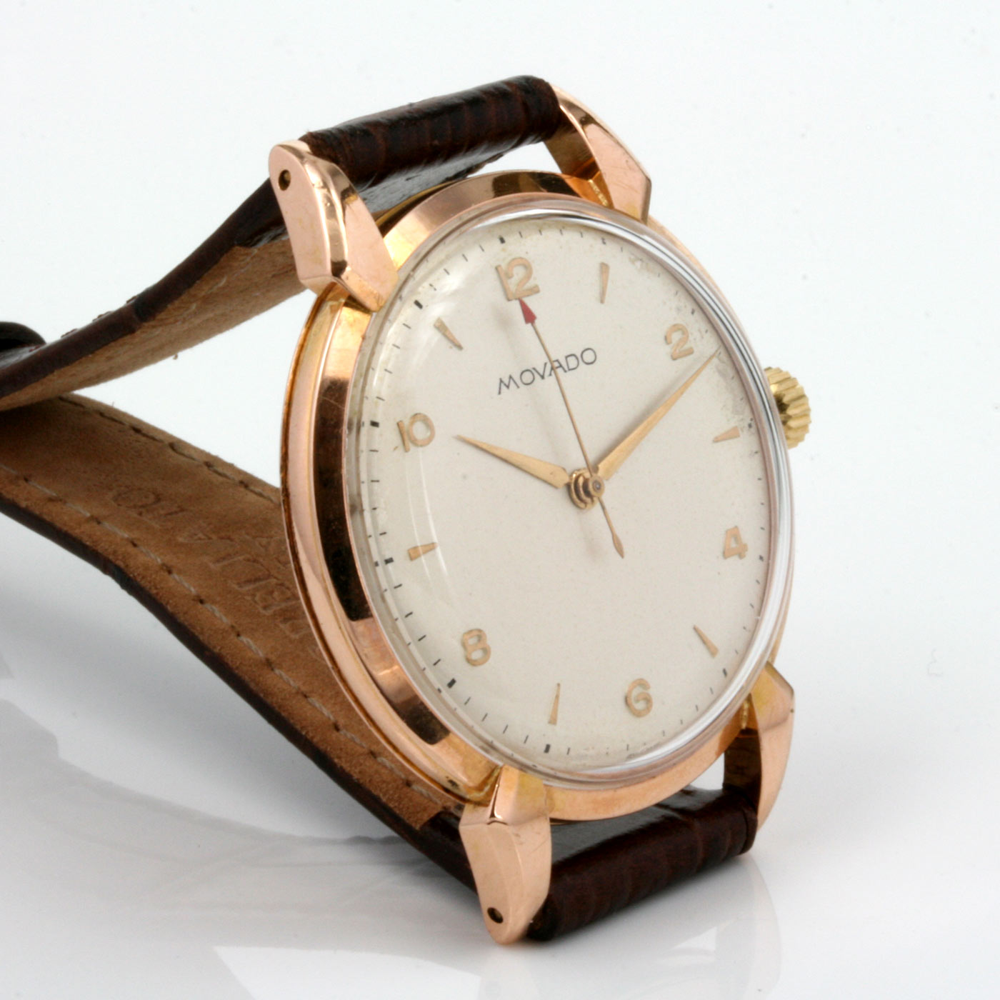 Buy vintage 18ct rose gold movado watch sold items sold watches sydney kalmarantiques for Vintage gold watch