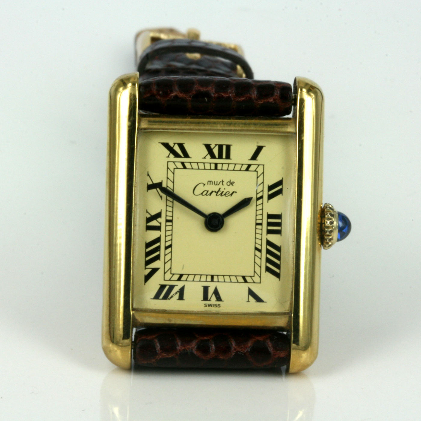 Buy Manual Wind Must De Cartier Watch Sold Items Sold