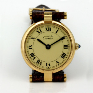 Lady's Must de Cartier watch.
