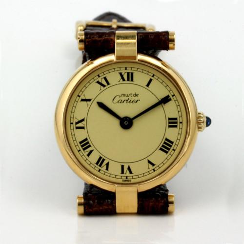 Lady's Must de Cartier watch.