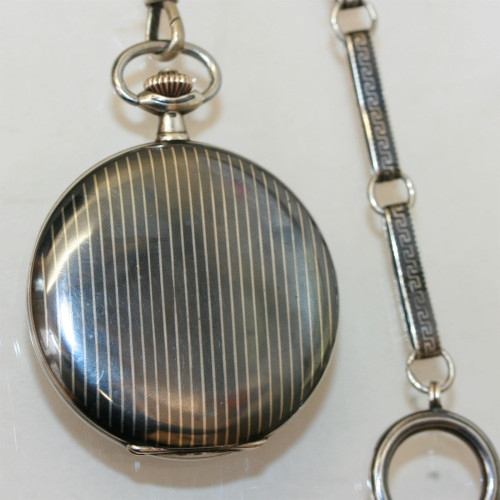 Niello pocket watch