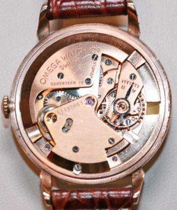 9ct Omega wrist watch