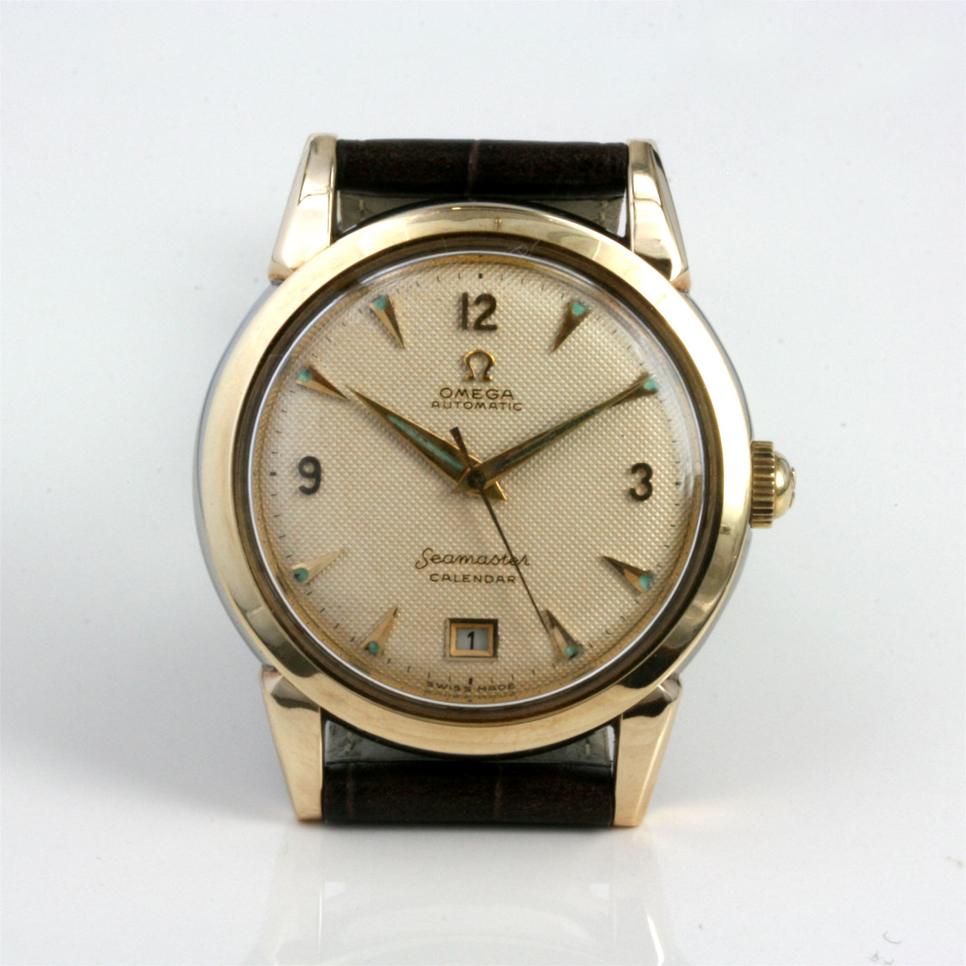 Buy 1952 vintage omega calendar watch sold items sold omega watches sydney kalmarantiques for Calendar watches