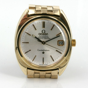 Vintage Omega Constellation watch.