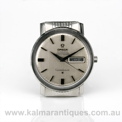 Vintage Omega Constellation Day and Date reference 168.016