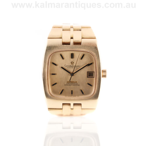 Rare solid 18ct gold Omega Constellation model 368.0847
