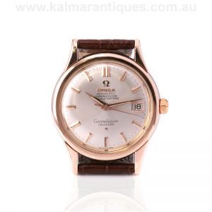 Vintage 1958 rose gold capped Omega Constellation watch