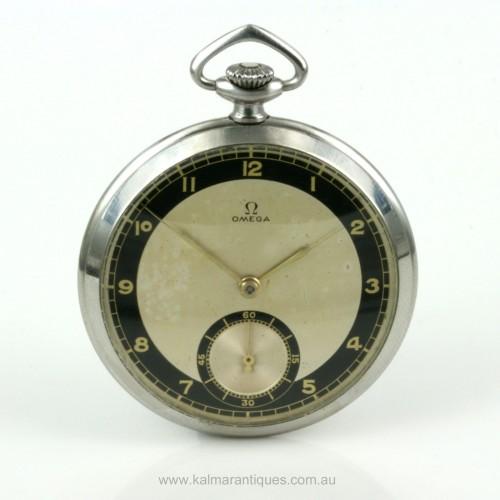 Vintage 1934 Omega pocket watch