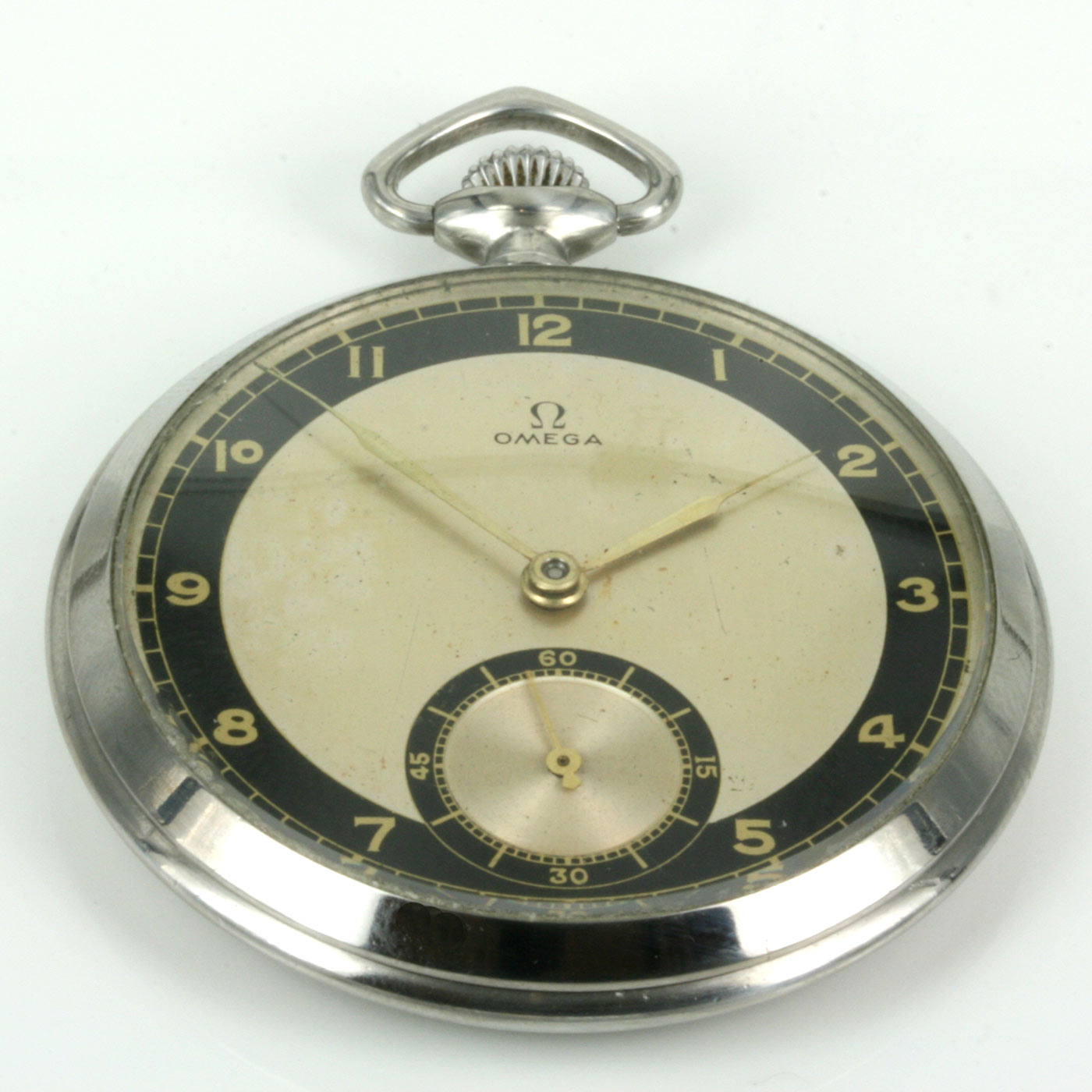 Buy Vintage 1934 Omega pocket watch Sold Items 9fd8253914