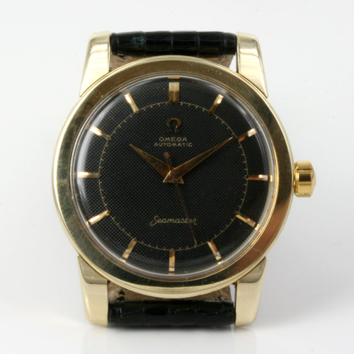 Black dial vintage Omega Seamaster from 1954