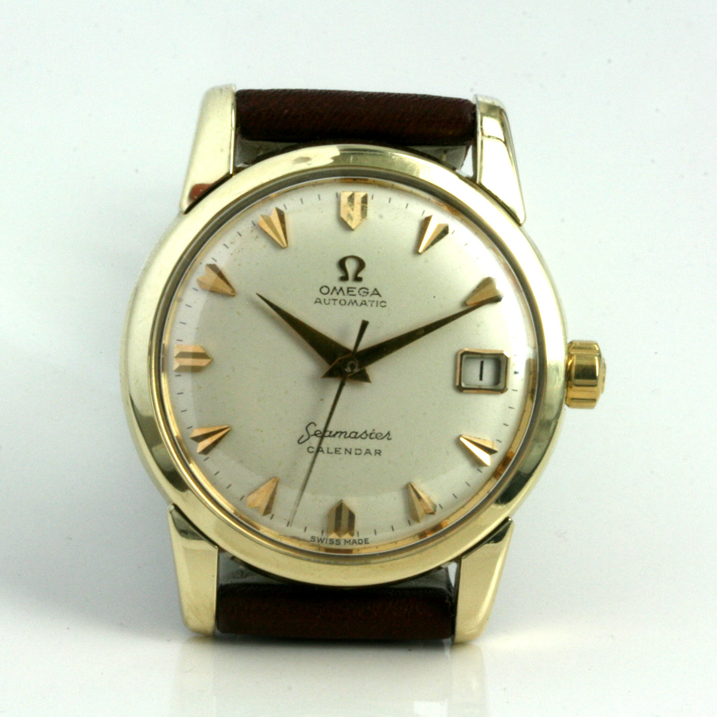 Omega Seamaster Calendar Vintage : Buy omega seamaster calendar from sold items