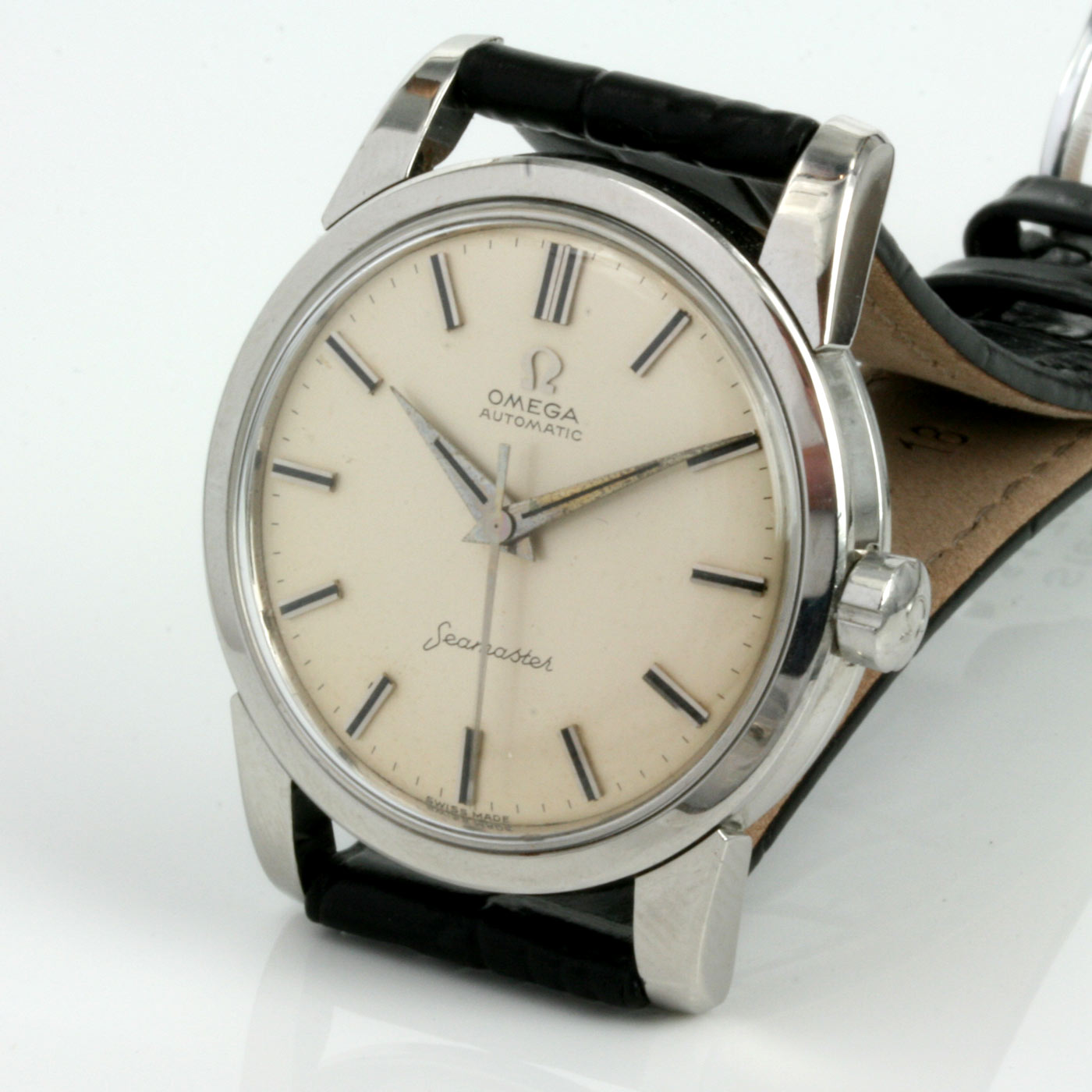 27bae78376a4c Buy Vintage Omega Seamaster watch from 1958 Sold Items