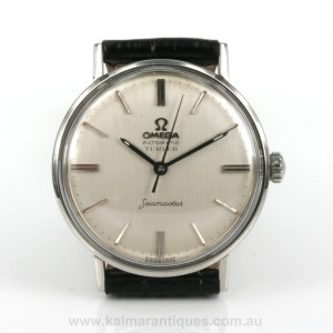 1964 Omega Seamaster automatic watch retailed by Türler