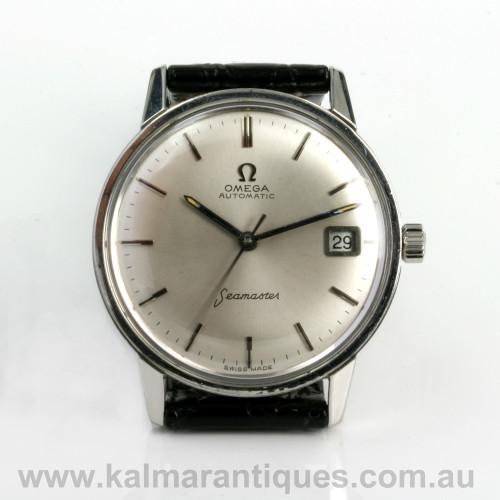 Vintage Omega Seamaster watch calibre 565 166.037