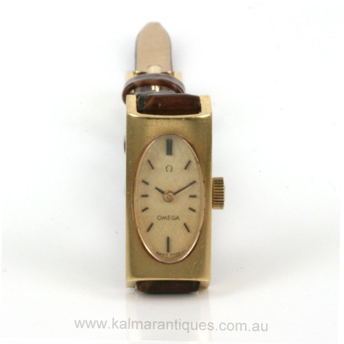 Ladies 18ct Omega watch from 1969