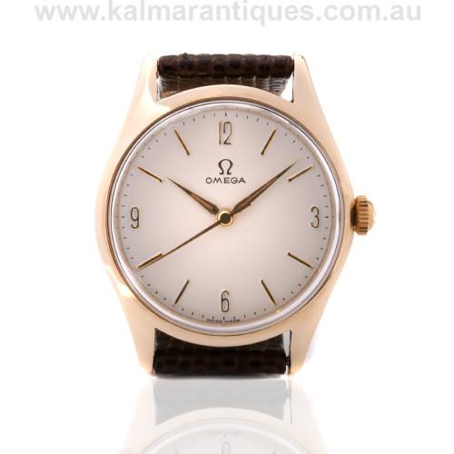 9ct Omega watch OA 2612