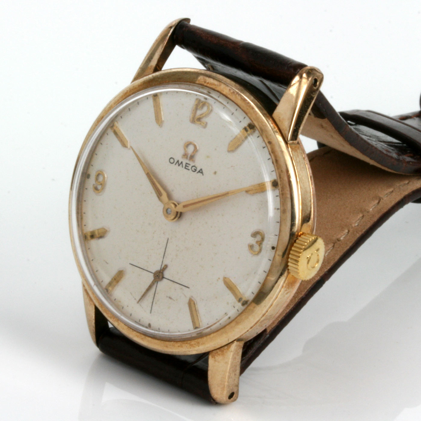 Buy vintage 1961 omega watch in gold sold items sold omega watches sydney kalmarantiques for Vintage gold watch